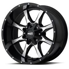 17 Inch Silver Black Wheels Rims Ford F150 Truck Expedition 6x135 Lug Moto Metal