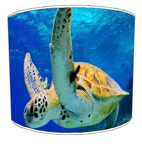 idéal pour correspondre à Sea Turtle Wall Decals /& Autocollants. Tortue de mer Designs abat-jour