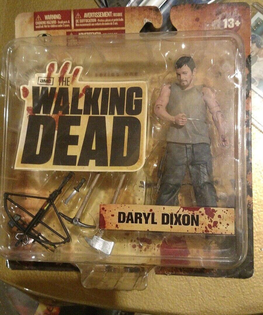 McFarlane AMC The Walking Dead Daryl Dixon Lot MIB + ZOMBIE MERLE