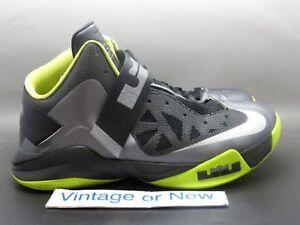 9eb4357903cb Nike Zoom LeBron Soldier VI 6 Cool Grey Black Volt sz 10