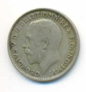 Great Britain Silver Three Pence UK 1920