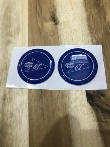 EMPI GT Volkswagen Steering Wheel sticker BLUE EMPI GT horn Stickers