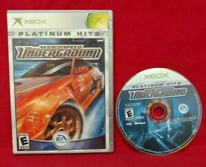 Need-For-Speed-Underground-Racing-Microsoft-XBOX-OG-Rare-Game-Tested