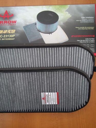 BMW E38 740I  740IL 750IL Cabin Air Filter charcoal carbon SET 100 Sold   447