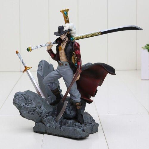 Manga WITHOUT BOX One Piece Dracule Mihawk PVC Anime Action Figure Toy