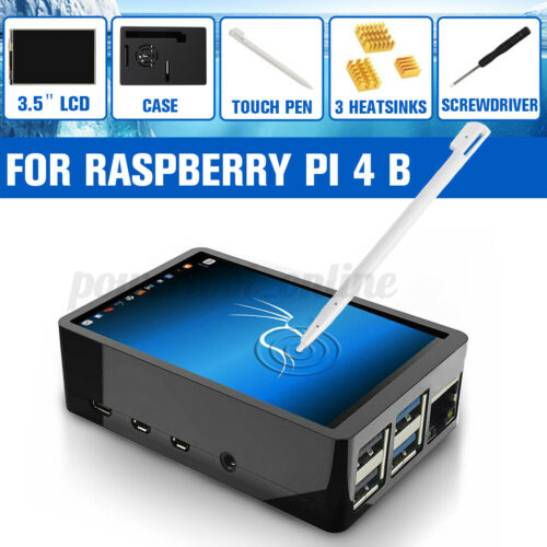 """Pen ≯ 3.5/"""" Touch Screen LCD Display Monitor for Raspberry Pi 4 Model B Case"""