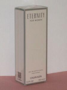 ETERNITY WOMEN (WHITE FLORAL) CALVIN KLEIN EDP SPRAY 3.4 oz./ 100 ml.NEW! SEALED