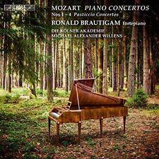 Mozart: Piano Concertos No. 1-4 Super Audio Hybrid CD (CD, Sep-2016, BIS...