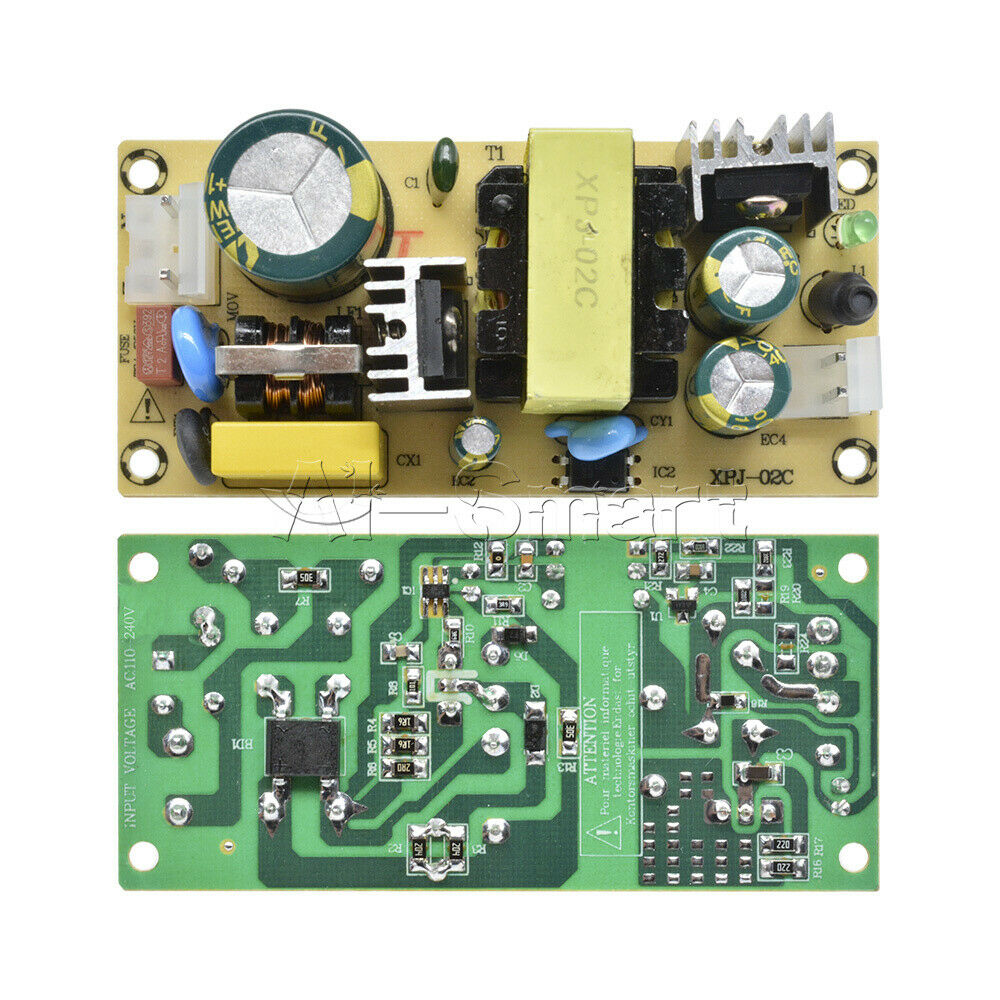 12V3A Switching Board AC 220V To DC 24V 50/60Hz Power Supply Module for Repair