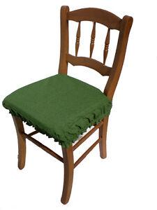 Cuscini Per Sedie Da Cucina.Dettagli Su Za419 Cuscino Vesto Per Sedia Da Cucina Cm38x38 H Cm3 In Cotone Vari Colori