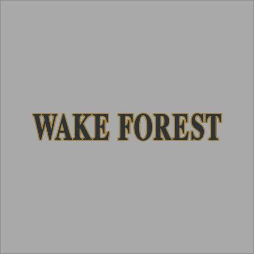 Wake Forest Demon Deacons #2 NCAA College Vinyl Sticker Decal Car Window Wall