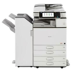 $54.99/Month With only 13K Page Count Ricoh MP 2554 Newer Model Monochrome Photocopier Printer Scanner 11x17 12x18 City of Toronto Toronto (GTA) Preview