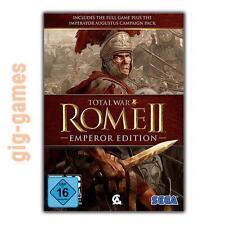 Total War: ROME II - Emperor Edition PC Steam Digital Key DE/EU/USA Download