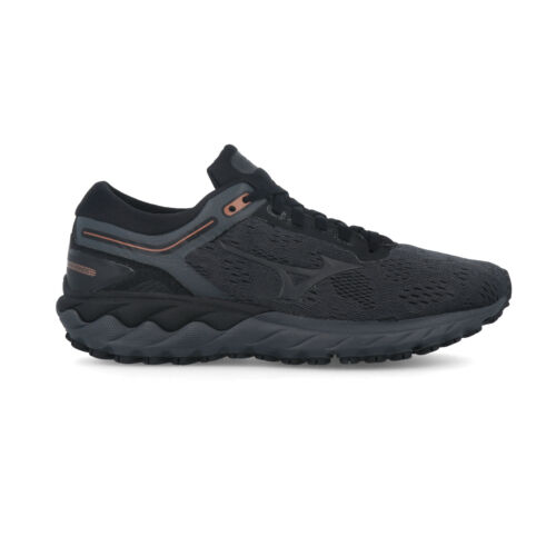 Black Sports Details about  /Mizuno Womens Wave Skyrise Running Shoes Trainers Sneakers