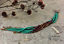 7-034-Extra-Long-Green-Beaded-Earrings-Ombre-Shoulder-Dusters-Long-Seed-Bead-Earring thumbnail 3