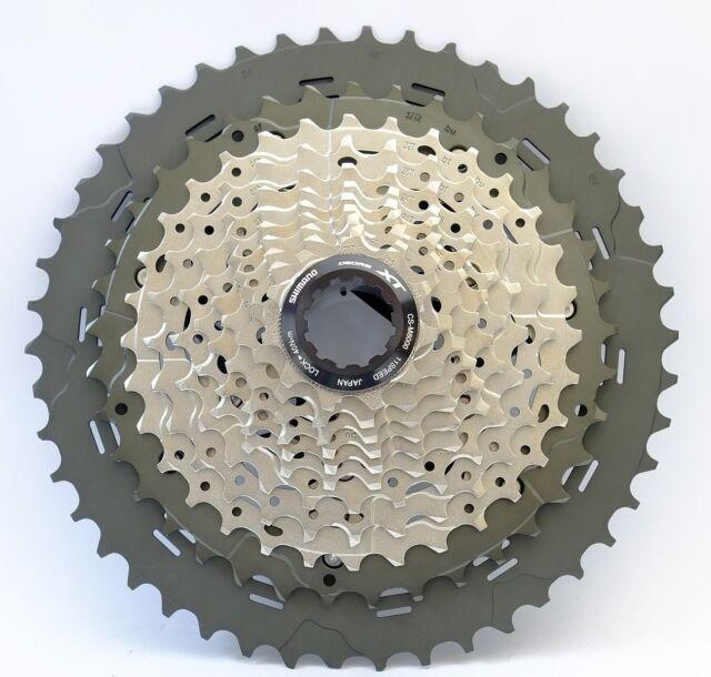 Cycling Shimano Cs-m8000 Deore Xt 11spd Cassette 11-46t 11-speed Icsm8000146 Cassettes, Freewheels & Cogs