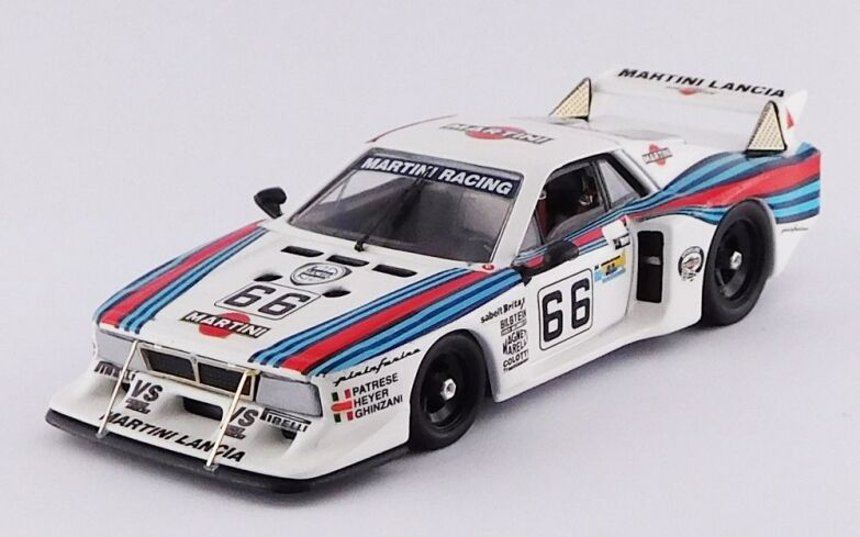 BEST MODEL BES9658 - Lancia Beta Monte Carlo Turbo H du Mans - 1981   1 43