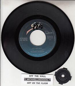 MICHAEL-JACKSON-Off-The-Wall-7-034-45-rpm-vinyl-record-juke-box-title-strip