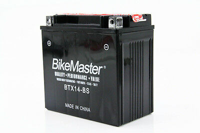 BikeMaster Battery Honda VT750C/CD Shadow ACE 1998 1999 2000 2001 2002 2003