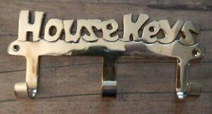 Brass-key-hooks-HOUSE-KEYS-3-hooks-hanger