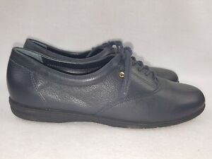 Oxford lace Up Shoes, Navy Size 7.5