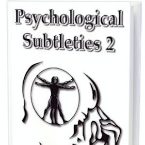 Book PS2 Psychological Subtleties 2 by Banachek