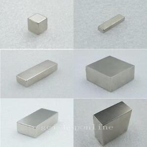 N35 N50 N52 Neodymium block Permanent rare earth magnet super strong size ccc US