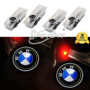 4x projector laser led car door step shadow logo light for. Black Bedroom Furniture Sets. Home Design Ideas