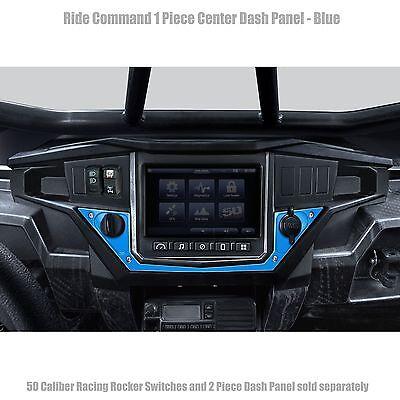 Dash Panel Center Bottom Red Aluminum for Polaris XP1K XP1000 Ride Command UTV