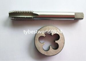 New1pc HSS Machine 1 1//4-18 UN Plug Tap and 1pc 1 1//4-18 UN Die Threading Tool
