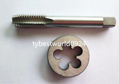 New 1pc HSS Machine 9//16-20 UN Plug Tap and 1pc 9//16-20 UN Die Threading Tool