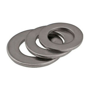 Thick 0.5mm 304 A2 M3-M20 Large Ultra Thin plain Washers Metal Flat Ring washer