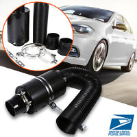 Universal Car3 Inch Cold Air Filter Feed Enclosed Induction Intake Pipe Hose