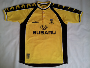 newest collection 34007 93848 Details about VINTAGE RARE DIADORA BEITAR JERUSALEM #7 GIOVANNI ROSSO  SOCCER JERSEY IN SIZE S