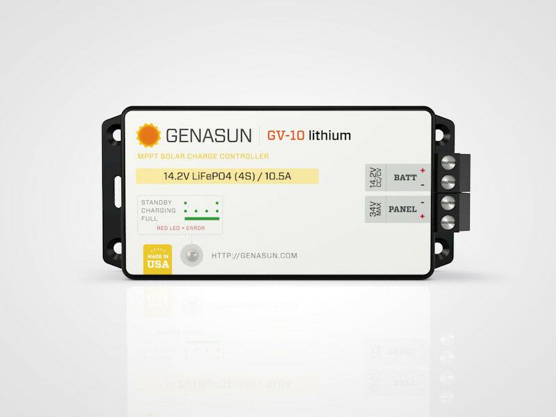 Genasun GV10 Lithium MPPT GV10Li12.5V