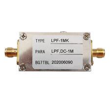 1m Rf Low Pass Filter Lpf Filter Ham Radio Low Pass Filter Module 50 Ohm Sma