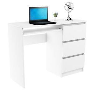 Schreibtisch Arbeitstisch Büromöbel Laptoptisch Computertisch Bürotisch WEISS