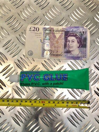 HOT TUB FLEXIBLE REPAIR PVC GLUE ADHESIVE 90 gram IDEAL FOR INFLATABLE SPAS