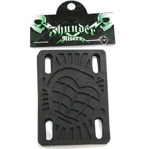 THUNDER-Noir-0-3cm-Trucks-de-skateboard-Prolongateur-protections