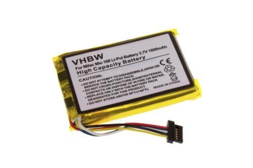 Batterie Lithium Polymère Batterie pour Typhoon MyGuide 3500 mobile de navigation