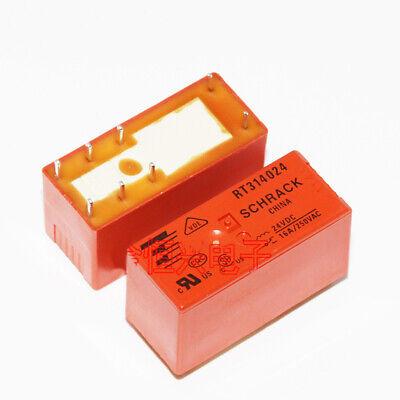 RT314F12  8-1393239-7  Schrack  12VDC  16A   1xU   SPDT  240R   NEW  #BP 1 pc