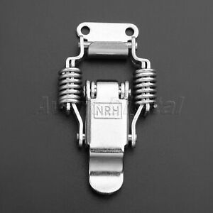 1Pcs Spring Loaded Toggle Latch Catch Hasp Cabinet Tool Box Case Locking 55mm