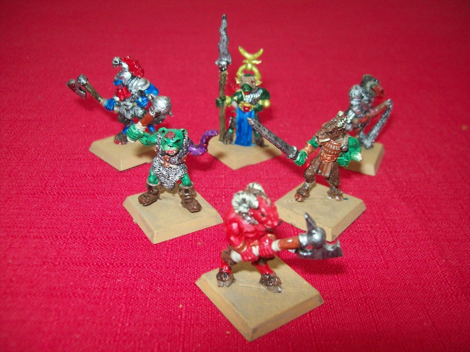 Warhammer fantasy beastmen - chaos