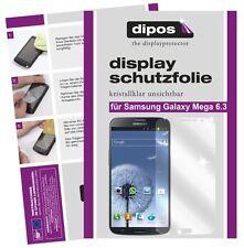 Samsung Galaxy Mega 6.3 Schutzfolie klar Displayschutzfolie Folie unsichtbar 1A
