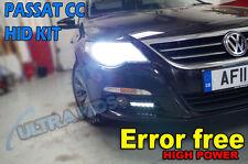 Vw Passat Cc Hid Xenon Luces Kit de conversión H7 6k 8k 43k 10k Canbus Error Free
