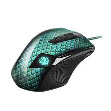 Sharkoon Drakonia Gaming Maus 5000 dpi mit Gewichten Spieler Mouse USB