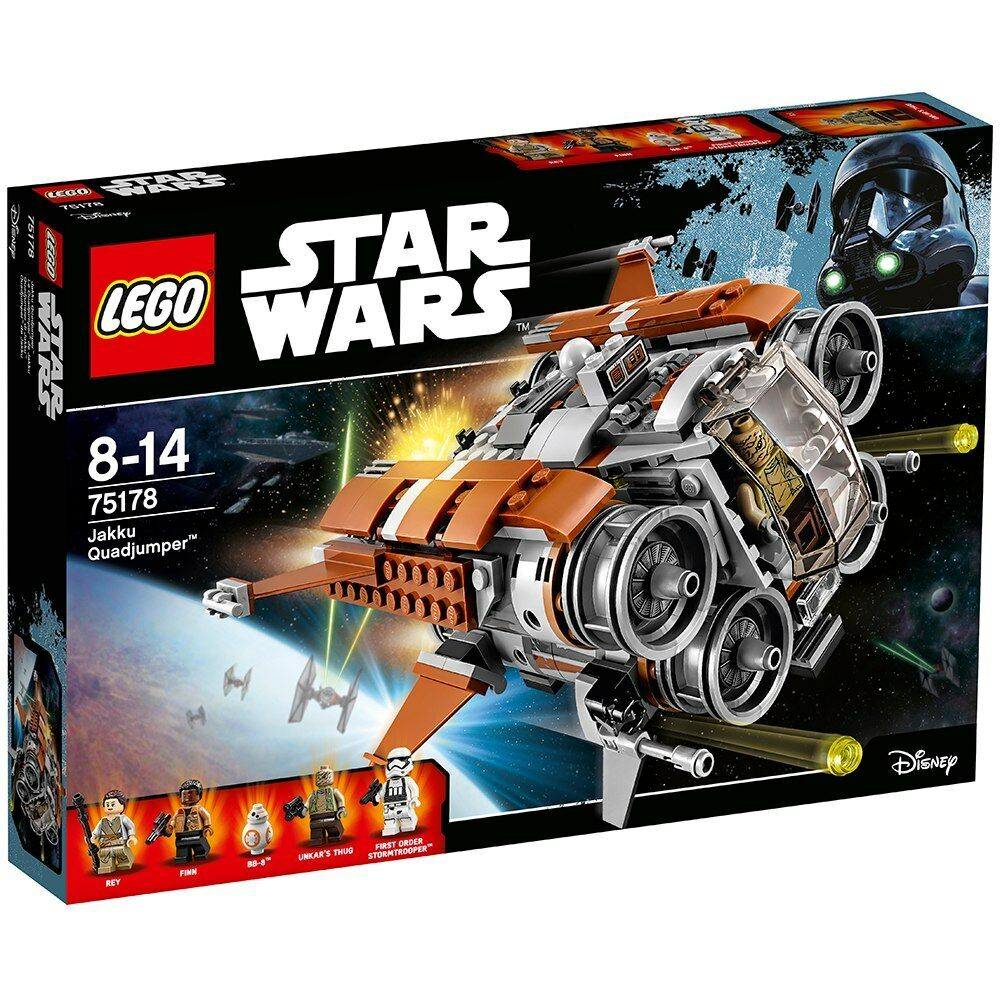 LEGO Star wars wars wars 75178  Jakku Quad Jumper - Brand New d2e1df