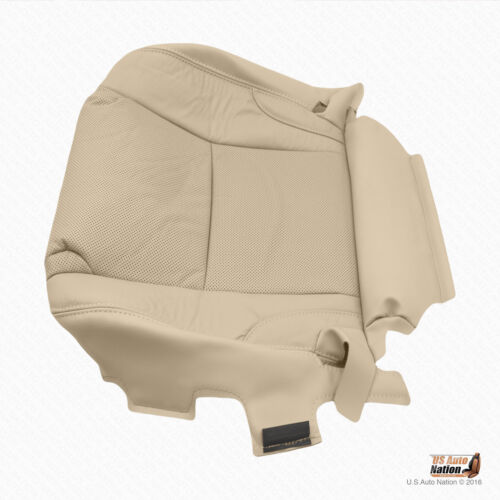 Driver Bottom Perforated Leather Cover In Tan For 2006-2013 Lexus IS250 IS350