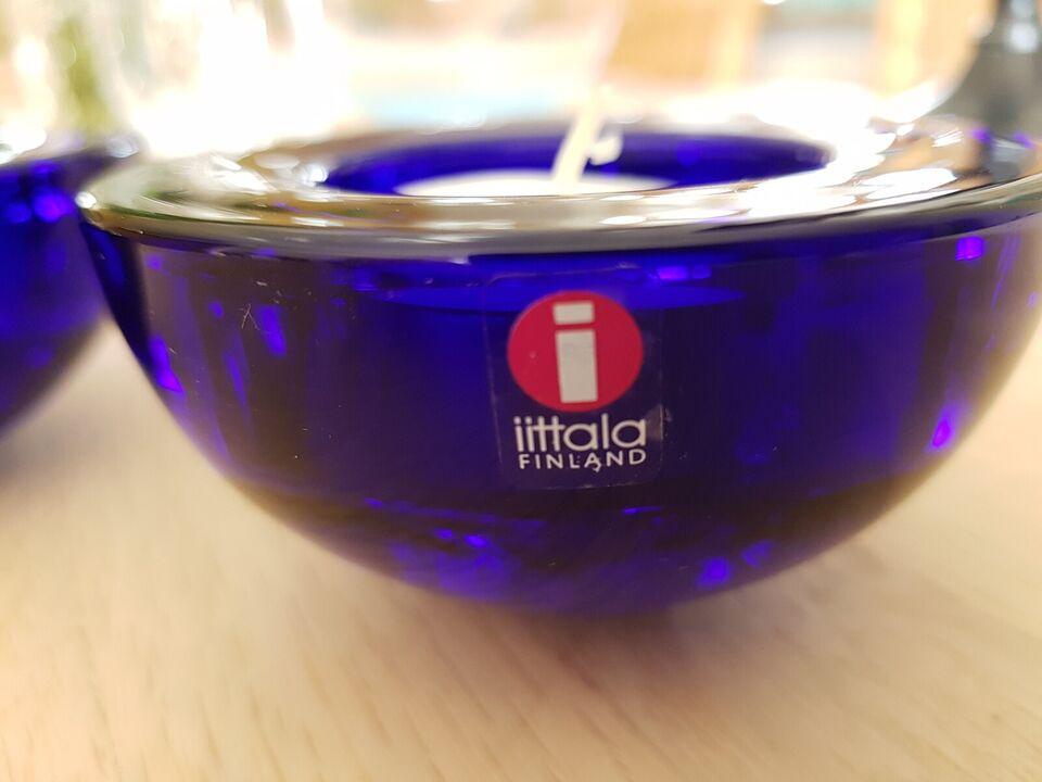 "fyrfads glasstager, ""Ballo"" Iittala, Finland"