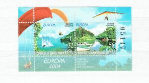 Vente Pas Cher Yougoslavie-europe/cept 2004 (cachet/**/neuf Sans Charnière) Bloc 57
